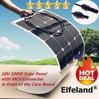 Buy Solar Panel Monocrystalline Solar Cell Water Resistant Poly Semi-flexible Solar Panel Module Battery Charger for Motorhome Camper Caravan Boat Outdoor Emergency at Wish - Shopping Made Fun 12v Solar Panel, Solar Panels, Golf Cart Batteries, Camper Caravan, Lead Acid Battery, Motorhome, Flexibility, Charger, Improve Yourself