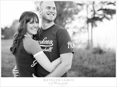 Showing some #Yankees love :) #engagement photo