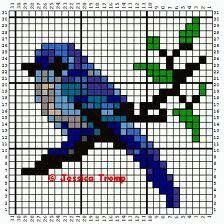 Vogel strijkkralen