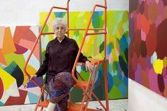 La abstracción es todo acerca de la realidad para el artista Samia Halaby