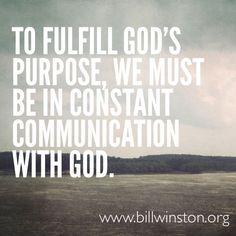 Fulfill Gods Purpose...