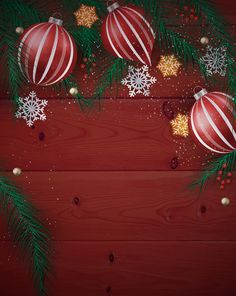aliexpresscom buy christmas photographic background red wood ball snowflake tree new year photo studio cloth year of the rooster from reliable studio