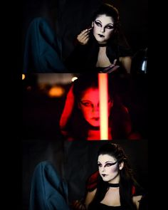 Hello feeble apprentices my Lady Sith Makeup Tutorial is now up...watch as I show you how you can create your own unique #sith makeup for cosplay. Simple & fun...would you join the dark side? We shall see. Link is in my Instagram description. Later I will upload another tutorial involving a very famous fairy   #cosplay #cosplaymakeup #starwars #starwarscosplay #cosplayer #theforceawakens #kyloren #sithmakeup #sithlord #makeup #lightsaber #starwarsfan #fxmakeup #darthmaul #covergirlstarwars…