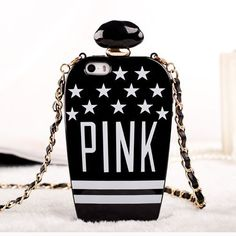 Victoria's Secret PINK Perfume Bottle iPhone 5/5S Case