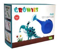 GROWIES, Flux' Kinder Gießkanne mit variabler Griffposition, iGADU Gartenspielzeug
