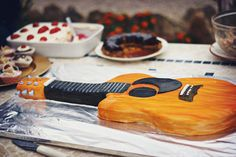 Guitar Cake and the Music Festival - Oh, The Things We'll Make!