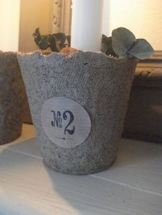 for the peat pots