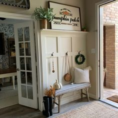 Oct 2019 - DIY board and batten Tutorial. A step by step guide to make a board and batten wall for your entryway. An inexpensive and simple way to transform any wall. Entry Wall, Entry Stairs, Master Bedroom Makeover, Board And Batten, Entryway Decor, Foyer, Entryway Bench, Home Projects, Home Remodeling