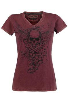 Rock Rebel Skull t-shirt ~ emp-online