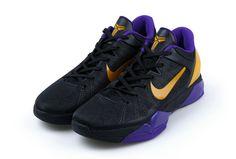 Nike Zoom Kobe 7 VII Lakers Away Black Purple Yellow