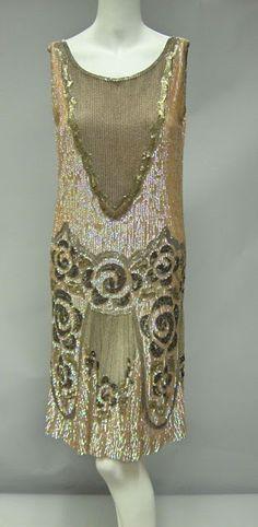 1920's flapper party dress