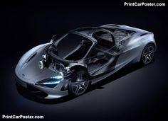 McLaren 720S 2018 poster, #poster, #mousepad, #tshirt, #printcarposter