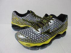 Mizuno Wave Prophecy 3 Running Men's White/Black/Cyber Yellow #Mizuno #RunningCrossTraining