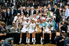 Sat World Champion Spurs Cinco
