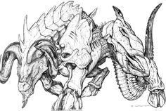 SPLICERS Metamorph Battleram by ChuckWalton.deviantart.com on @deviantART