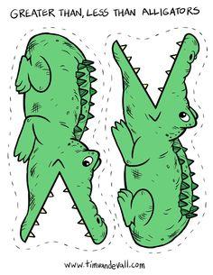 greater-than-less-than-alligators.jpg (927×1200)