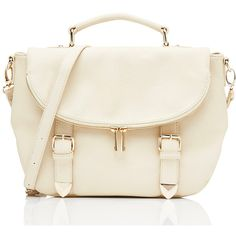 Forever New Saskia Satchel ($41) ❤ liked on Polyvore