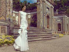 "Italy-""Lago di Como"" 2015 The Bride, Wedding 2015, Diva Fashion, Wow Products, Lifestyle Blog, One Shoulder Wedding Dress, Urban, Couture, Wedding Dresses"