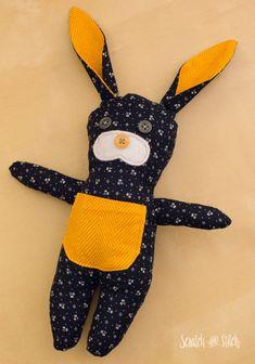 Stuffed Bunny Pattern - scratchandstitch.com