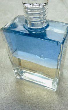 colour bottle, blue,yellow,オーラソーマ