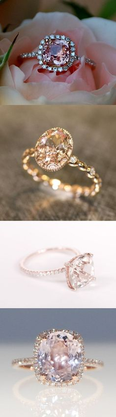 rose gold diamond ring engagement ring so gorgeous