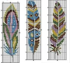 Cross Stitch Bookmarks, Cross Stitch Love, Cross Stitch Charts, Cross Stitch Designs, Cross Stitch Patterns, Pony Bead Patterns, Loom Patterns, Hand Embroidery Projects, Embroidery Patterns