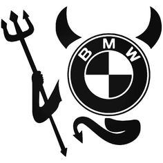 Brand New Bmw Devil Sticker and in stock. Self-adhesive, die cut, pre-masked and ready to apply to any smooth surface. High glossy finish, cut from premium 3 mill vinyl, with a life span of 5 - 7 years. Classic Harley Davidson, Used Harley Davidson, Harley Davidson Knucklehead, Harley Davidson Motorcycles, Cruz Tattoo, Bmw Wallpapers, Motorcycle Companies, New Bmw, Aesthetic Stickers