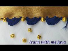 ಸೀರೆ ಕುಚ್ಚು# 122 .new simple Saree kuchu videos for beginners .learn #withme jaya - YouTube Saree Tassels Designs, Saree Kuchu Designs, Hardanger Embroidery, Hand Embroidery Stitches, Simple Sarees, Simple Designs, Blouses, God, Learning