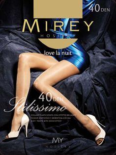 Mirey Itilissimo -40 Denier Thickness  #Mirey #LuxuryPantyhose
