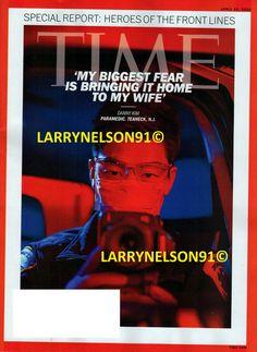 TIME MAGAZINE APRIL 20 2020 DANNY KIM HEROES OF FRONT LINE PANDEMIC VIRUS NJ MED Biggest Fears, Time Magazine, April 20, Magazines, Bring It On, Journals, Magazine