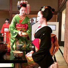 Miyako Odori tea ceremony