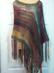 Easy Crochet Poncho Pattern