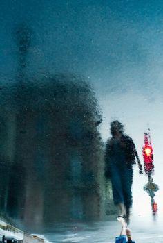 Уличные отражения от Мануэля Плантина