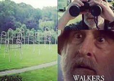 Zombie apocalypse humor. Dale. Walking Dead
