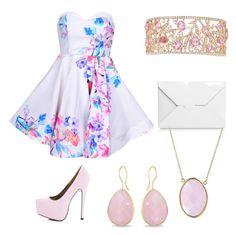 Prom by audreytaylorb-1 on Polyvore featuring polyvore, fashion, style, AX Paris, J.W. Anderson, Ice and Bling Jewelry