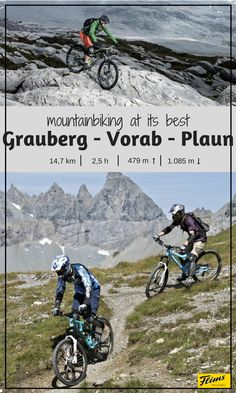 If you are a mountainbiker, this is a trail that you cannot miss! In Flims, Switzerland, you can bike up to the Vorab Glacier, to one of the highest points of the region, and then enjoy the ride all the way down to Plaun. Excitement pur! #fromFlimswithLove Seen, All The Way Down, Mountain Biking, Switzerland, Mount Everest, Trail, Bike, Explore, Adventure