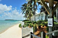 When you arrive on Sunset Key, the shore has the air of an exclusive beach estate somewhere in the Bahamas. http://vacationhomesofkeywest.com/ultimate-key-west-beach-house---sunset-key-~-vip.html