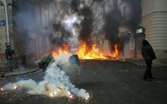 Protest in Nantes turns violent as new airport plans get the go-ahead Aviation News, Go Ahead, To Go, France, How To Plan, Country, Nantes, Rural Area, French Resources