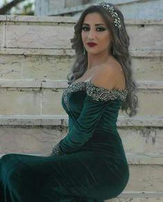 Long Dresses, Formal Dresses, Embroidery Dress, Aba, Kaftan, Feminine, Velvet, Summer, Style
