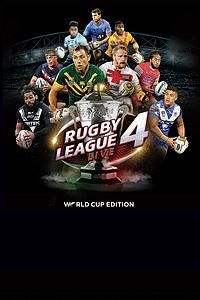 Rugby League Live 4 World Cup Edition Is Now Available For Xbox One