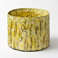 #MortenLøbnerEspersen #Vacui #1611 #stoneware #yellow #planter