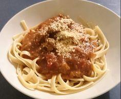 Recipe Julie's Chunky Spaghetti Bolognaise by Jellem - Recipe of category Pasta