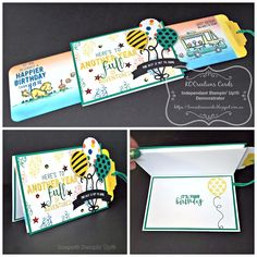 KOCreations Stampin' Up! Blog: Double Slider card - For those more advanced Stampers
