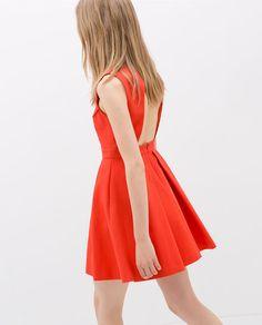 Image 5 of OPEN-BACK DRESS from Zara