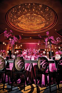 pink-black-atlanta-wedding-ellybevents-munaluchimunaluchi074 | Munaluchi Bride