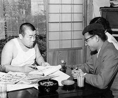 Kiyoshi Yamashita and Osamu Tezuka