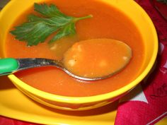 Reteta culinara Supa de rosii cu orez din categoria Supe. Cum sa faci Supa de rosii cu orez