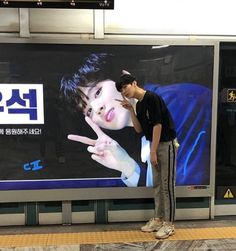 "Produce X ""visual kings"" Kim Wooseok and Kim Yohan have been spotted taking photos in front of their subway ads. Lee Dong Wook, Yohan Kim, All About Kpop, Go See, Cube Entertainment, K Idol, Big Love, Kpop Boy, Boyfriend Material"