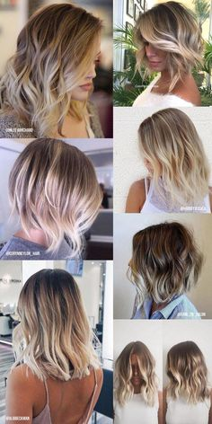 Balayage, hi light, balayage como fazer, balayage mel, balayage cabelos esc Cabelo Ombre Hair, Balayage Hair, Brown Blonde Hair, Brunette Hair, Hair Day, New Hair, How To Make Hair, Hair Videos, Hair Looks