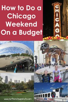 Travel can be expensive. But with a little planning, it can be affordable. Just check out our Chicago weekend on a budget. Weekend Humor, Weekend Trips, Weekend Getaways, Vacation Trips, Dream Vacations, Vacation Places, Long Weekend, Vacation Ideas, Chicago Vacation
